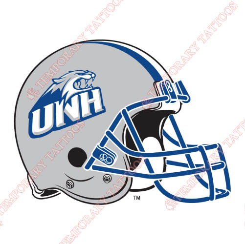New Hampshire Wildcats Customize Temporary Tattoos Stickers NO.5408